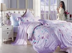 Holly Willoughby Wren Bed Linen Heather - Bedding sets - Home, Lighting & Furniture - BHS Duvet Bedding Sets, Luxury Bedding Sets, Linen Bedding, Comforters, Bed Linen, Bed Sets, Home Lighting, Duvet Covers, Bedroom Decor