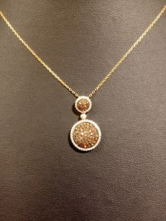 LeVian Chocolate Diamond Necklace I Love it Absolutely love it