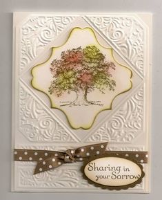 Sympathy feminine by trackscrapper - Cards and Paper Crafts at Splitcoaststampers