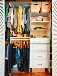 10 Ways to Maximize Storage Too much stuff and not enough space? Chances are, you've got more than you think. Lorie Marrero, bestselling author of The Clutter Diet, explains how to work with what you've got to create useable storage. Here, 10 ways to expand your closet, cabinets, and shelves.
