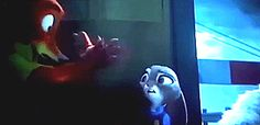 lol the look on Judy's face