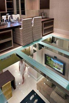 "Glass floor   ""Villa Romana"" by Hill House Interiors, UK"