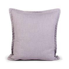 Grey Linea Cushion | Dunelm