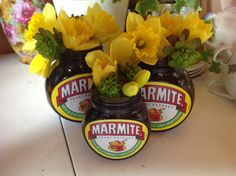 Marmite flowers of joy Flowers In Jars, Flower Jars, Modest Wedding, Summer Wedding, Is It Spring Yet, Big Ben London, Yeast Extract, Festival Wedding, Marmite Ideas