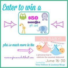 Babies R Us Gift Card Giveaway