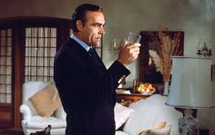 Sean Connery as James Bond in Diamonds Are Forever.