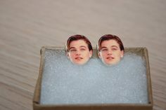 Leonardo DiCaprio Leo Post Stud Earrings Celebrity by charm456