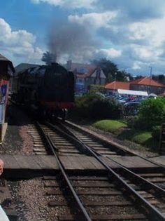 Steam train at Sheringham