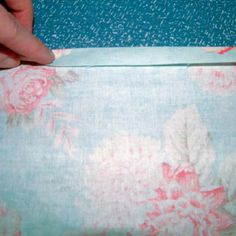 beginners sewing project-pillow slip cover
