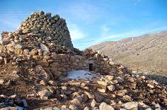 The impressive nuraghe Ruinas, Arzana #Ogliastra #Sardinia