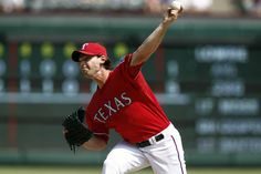 CrowdCam Hot Shot: Texas Rangers relief pitcher Neal Cotts throws to the Oakland Athletics during the ninth inning of a baseball game at Rangers Ballpark in Arlington. The Athletics won 1-0. Photo by Jim Cowsert