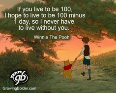 If you live to be 100....