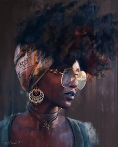 The fear black men hold against independent African women. – My Journey Art The fear black men hold against independent African women. Art Black Love, Black Girl Art, Black Is Beautiful, Art Girl, Beautiful Lips, African American Art, African Women, African Art, African Drawings