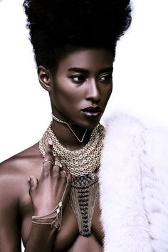 FASHION: Model Sara Naomi Stuns In Photographer Cooper Penn's Latest Beauty Editorial - AFROPUNK