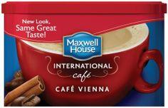 Maxwell House International Coffee Cafe Vienna, 9-Ounce Cans (Pack of 4) by Maxwell House. $21.89. Vienna