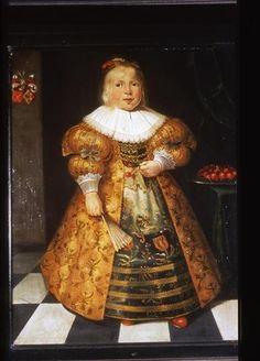 Harmen Willemsz Wieringa, Portrait of Ymck van Paffenrode, 1634 - Fries Museum Leeuwarden