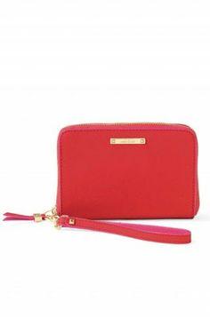 Chelsea Tech Wallet - Poppy  Red Hot Valentine's Day gift. Find them it www.stelladot.com/yasmineb