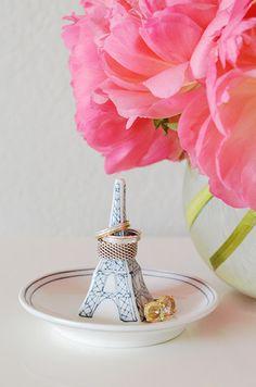 Eiffel Tower ring dish #anthrofave