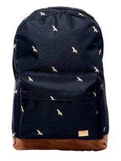 Spiral Bird Backpack