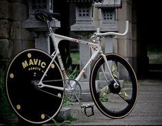 ROSSIN Track #fixie #bicycle #MAVIC