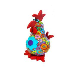 Chicken sculpture, chicken figure, chicken decor, collectible chicken, chicken decoration, chicken art, chicken, whimsical chicken
