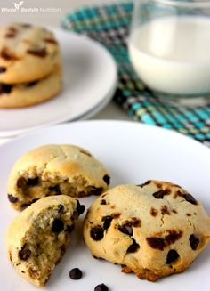 Paleo Chocolate Chip Cookies or Scones Recipe {No Almond Flour, No Coconut Flour} - Whole Lifestyle Nutrition