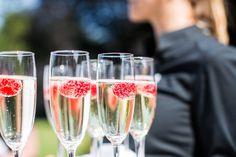 Buiten trouwen, outdoor wedding, de Wolfsberg, Groesbeek, Nijmegen, Arnhem, trouwen, frambozen coctails