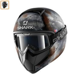 Shark Vancore 2 Flare - Matt Anthracite Steel / Rust Orange from the UK's leading online bike store. Free UK delivery over and easy returns on our range of over products. Motorcycle Gear, Motorcycle Helmets, Indian Scout Bike, Quad, Cool Sharks, Online Bike Store, Cafe Racer Build, Motosport, Rust Orange