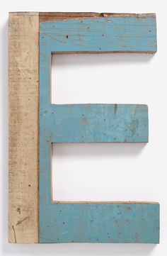 Decorative Wooden Letters & Numbers