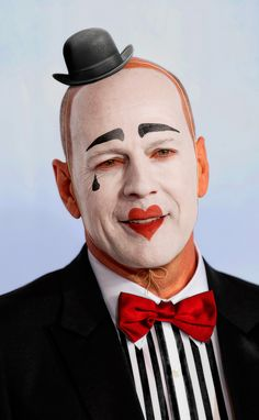 Photoshop Submission for 'Celebrity Mimes Contest Joker Clown, Creepy Clown, Creepy Carnival, Clown Faces, Circus Performers, Send In The Clowns, Circus Clown, Clowning Around, Halloween Doll
