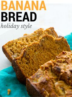 Holiday Banana Bread #vegan