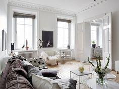Scandinavian Design: Spacious Apartment Overlooking Skansen Kronan