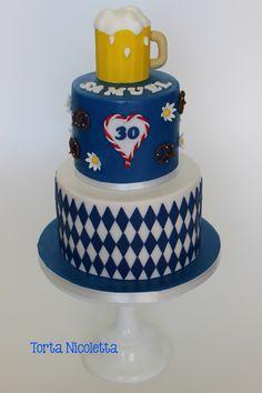 Bavarian party, octoberfest cake