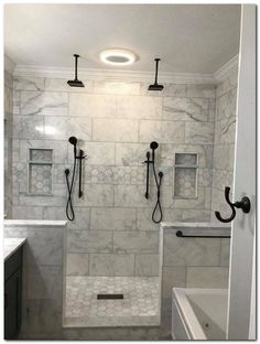 8 Remarkable Cool Tips: Large Shower Remodel Ideas shower remodeling ideas wood tiles.Shower Remodel On A Budget Diy small master shower remodel.Walk In Shower Remodel Benches. Dream Bathrooms, Amazing Bathrooms, Luxury Bathrooms, Master Bathroom Shower, Master Bathrooms, Master Baths, Diy Shower, Bathroom Fixtures, Bathroom Mirrors