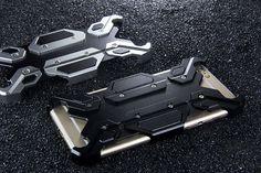 Mate EVA Mechanical Armor Aluminum Metal Protective Case for Apple iPhone 6S/6 & iPhone 6S Plus/6 Plus