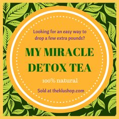 Thanksgiving is right around the corner, so get your DETOX TEA now! My Miracle Tea provides relief for stomach issues due to overeating.Get your tea TODAY.