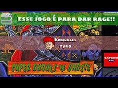 Desafio! - Ghouls And Ghosts - Dei Rage mesmo! | Blog Viiish Channel
