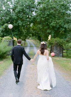 Wedding Dress: La Sposa Detalle - http://www.stylemepretty.com/portfolio/la-sposa-detalle Photography: Divine Light Photography - www.DLweddings.com   Read More on SMP: http://www.stylemepretty.com/2016/03/25/small-summer-country-wedding-in-the-catskills/