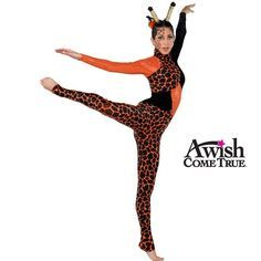 Print spandex, panne velvet and sequin dot lurex knit unitard with keyhole back. Two-tone boa on barrette is included. Ears are an optional extra so not included, see related product link below. Adult size is available