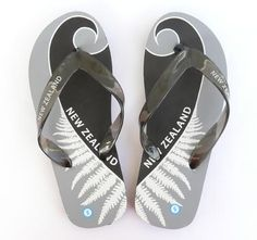 These Aqua NZ Kiwi Jandals are really pretty. The jandals (you might call them flip-flops) have a lovely print incorporating birds, Silver Fern, kowhai. Flip Flops, Silver Fern, Kiwiana, Wedding Favours, Ferns, New Zealand, Html, Beaches, Aqua