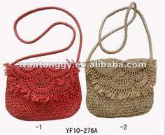 Resultado de imagen para carteras tejidas al crochet