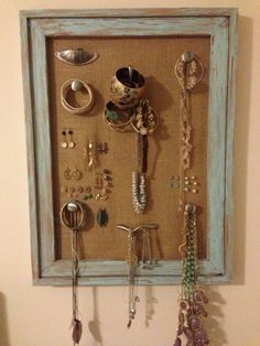 Rustic/Weathered Jewelry Board