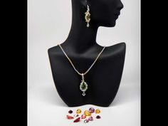 Kolourful parure with changeable stones colours. Matching with all coulors, perfect for sevel occasions and for travelling light :-) Matching Rings, Travel Light, Design Products, Women Empowerment, Travelling, Stones, Colours, India, Pendant Necklace