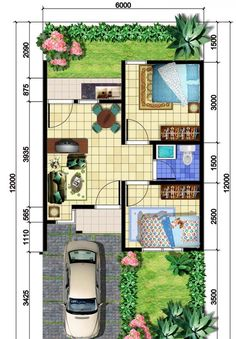 House Layout Design, Tiny House Design, Plan Design, Small House Floor Plans, Home Design Floor Plans, Layouts Casa, House Layouts, Minimalist House Design, Minimalist Home