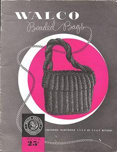 Walco Beaded Bags Book No. 49, Crochet (Used) at Sova-Enterprises.com