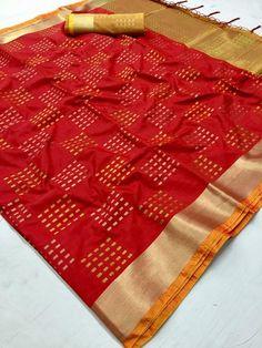 New Indian Soft Silk Weaving Designer Saree Ethnic Wedding Party Wear Sari 6 Kota Silk Saree, Bandhani Saree, Soft Silk Sarees, Chiffon Saree, Saree Dress, Net Saree, Banarasi Sarees, Floral Chiffon, Trendy Sarees