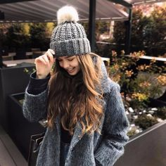 Gray Beanie And Gray Coat Look So Cute Yes Or No?#trenchcoa... | Z-Me Zaful Community