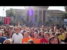 Gangnam Style Massive Flash Mob Palermo OFFICIAL VIDEO    LOVE THIS!!