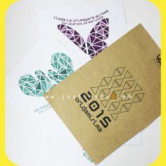 #CALENDARIO 2015: OrigamiRIMA. Incluye 12 láminas con una #ilustracion molona y una rima divertida para cada mes. Cada lámina se convierte en una #postal decorativa, para que la uses como tu quieras.