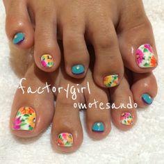 factorygirl toe nails design